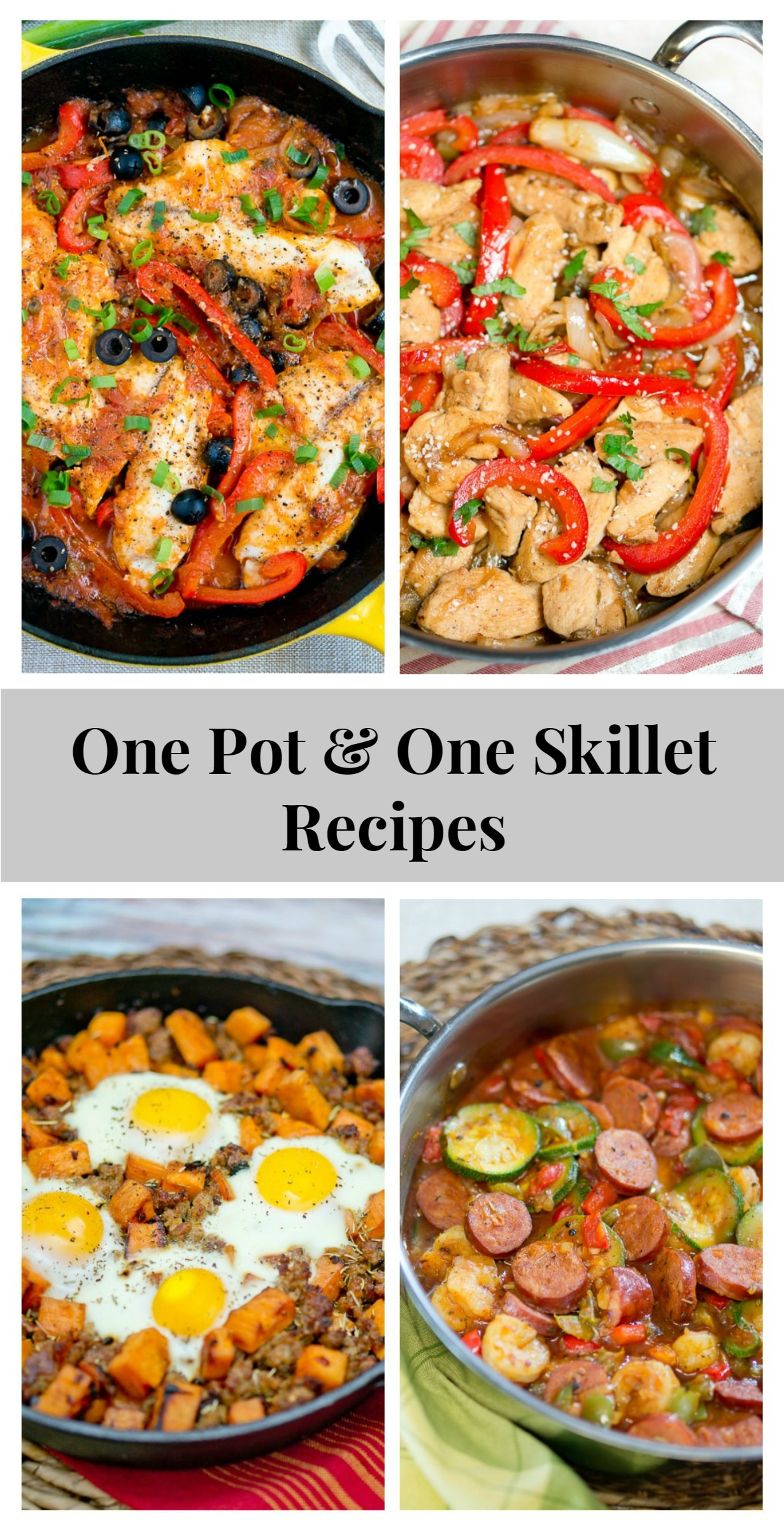 One Pot & One Skillet Recipes