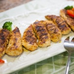 Pan Grilled Chicken & Sauteed Vegetables (Paleo, Grain-Free)