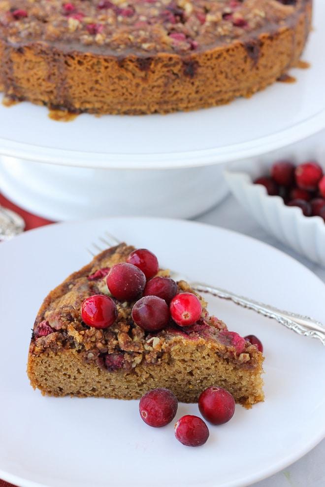 cranberry streusel coffee cake