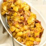 crispy pan fried potatoes