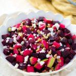 Roasted Beet and Apple Salad