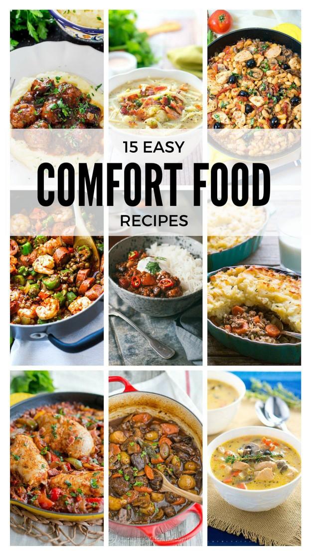 Easy Comfort Food Recipes