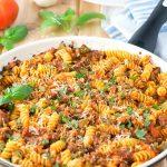 Sausage Peppers Pasta Skillet
