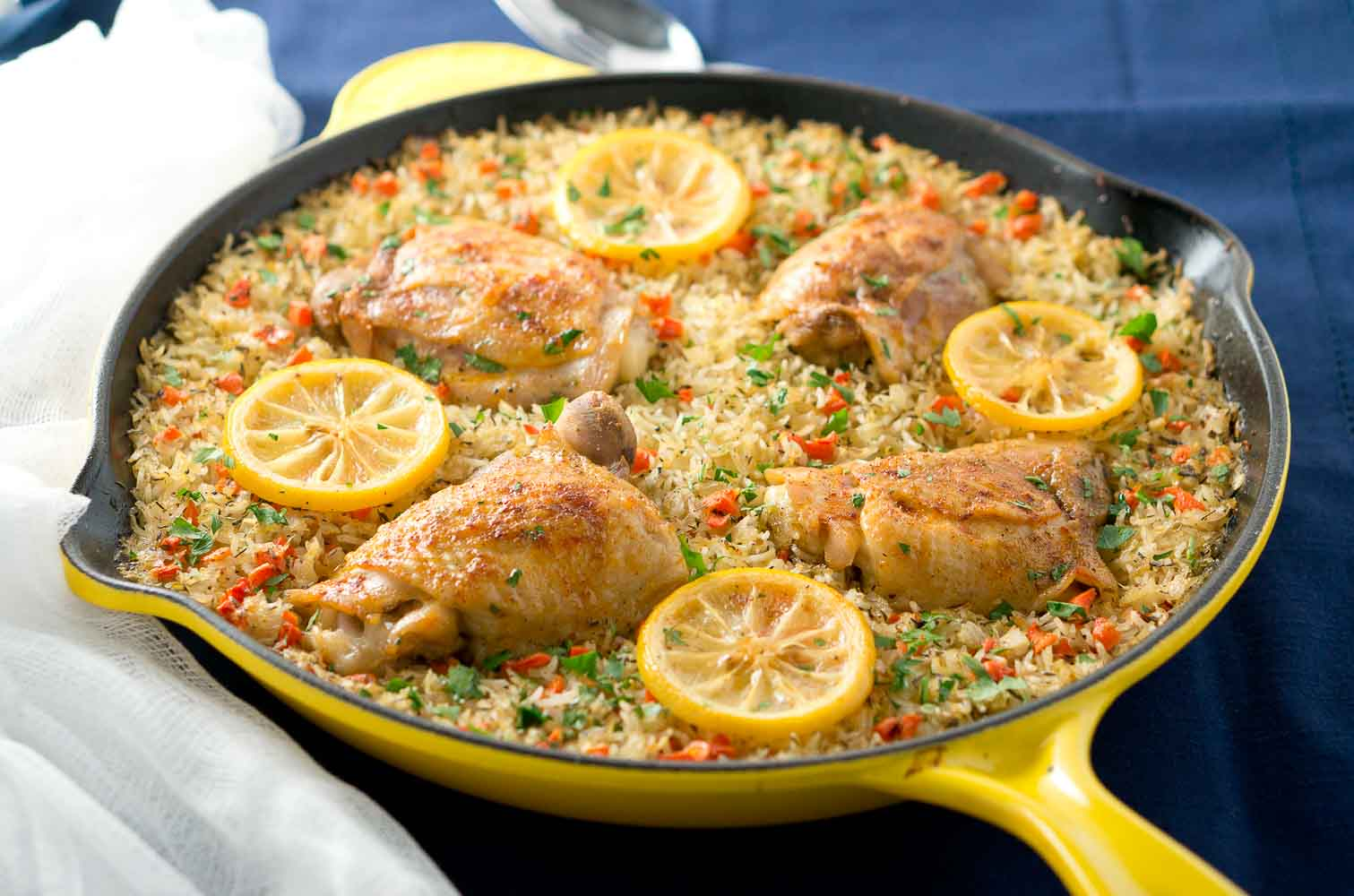 One skillet mediterranean chicken and rice delicious for Different meals to make with chicken