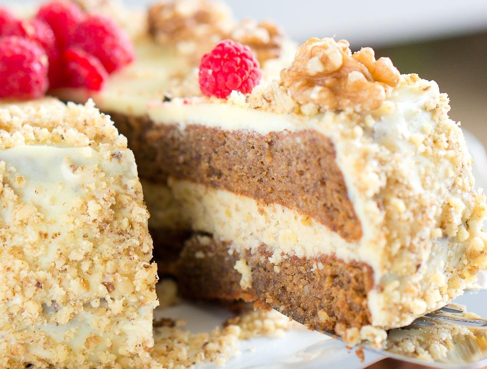 Flourless Chocolate Cake Garnish