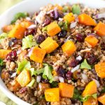 AButternut Squash Quinoa Salad