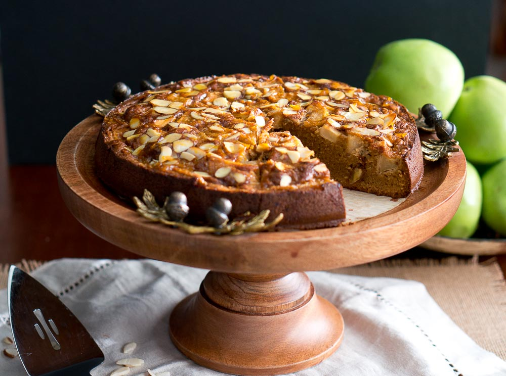 Apple Almond Cake Paleo Gluten Free Delicious Meets