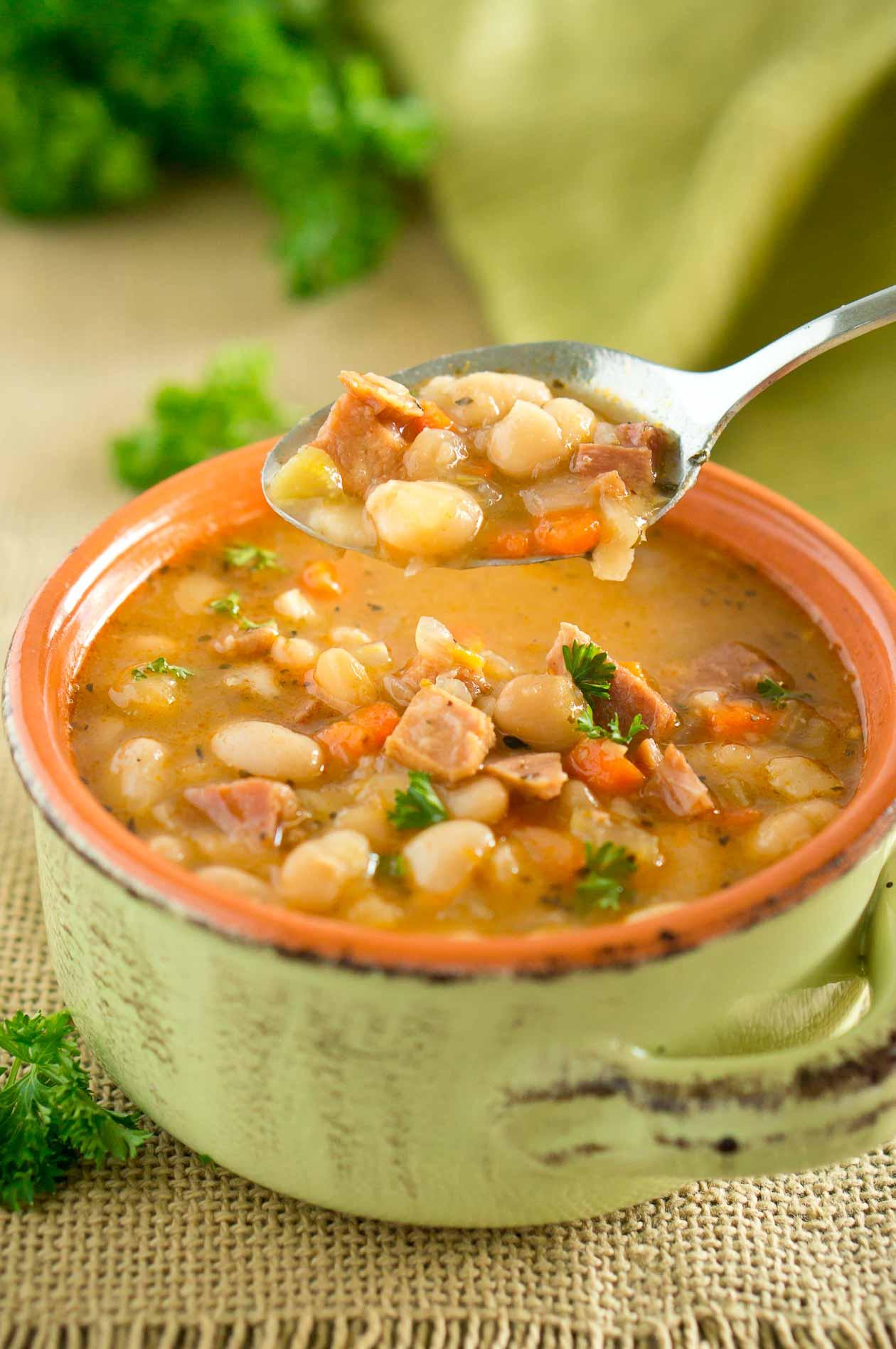 Ham White Bean Soup