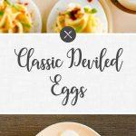 Classic Deviled Eggs