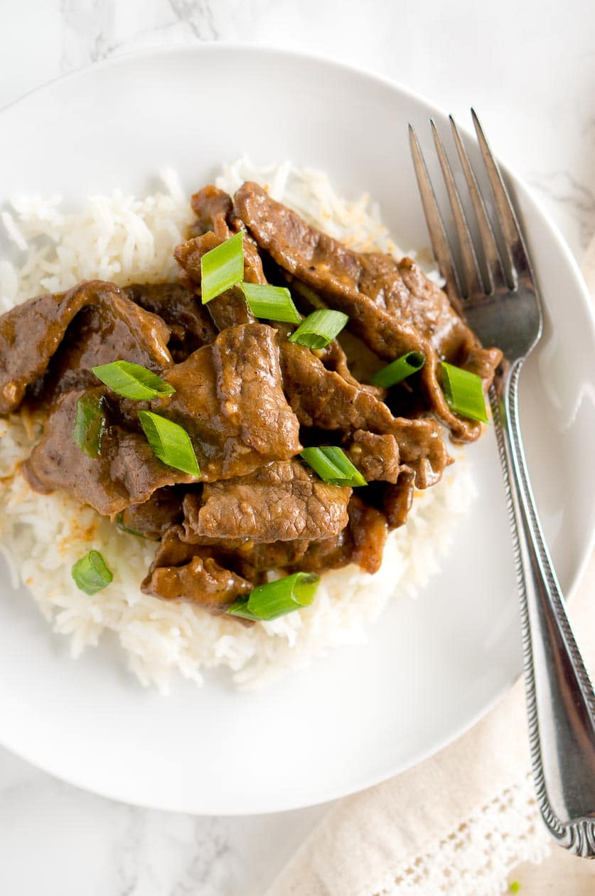 Authentic Mongolian Beef Recipe