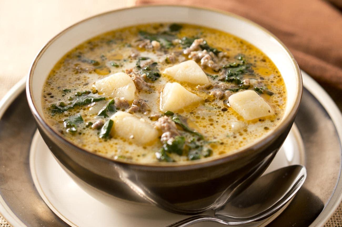 Instant Pot Zuppa Toscana | Delicious Meets Healthy