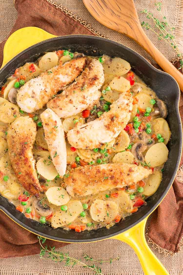 Country Chicken Skillet Recipe