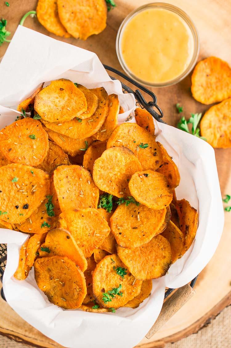 Sweet Potatoe Chips