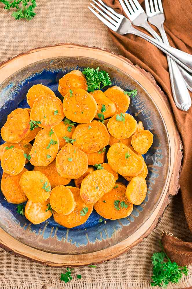 Baked Sweet Potato Slices Delicious Meets Healthy