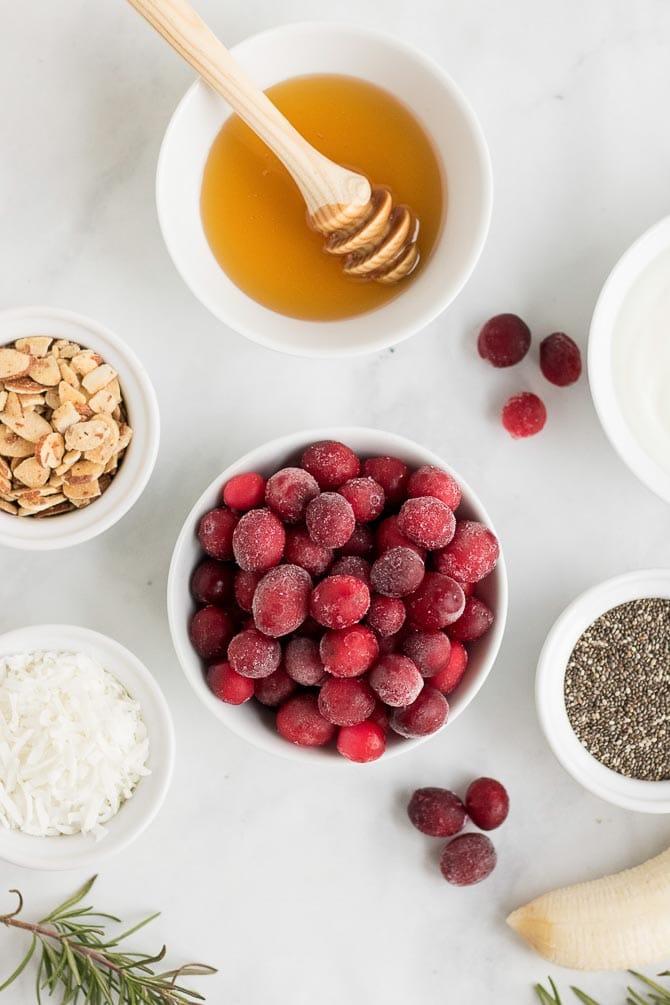 smoothie bowl ingredients