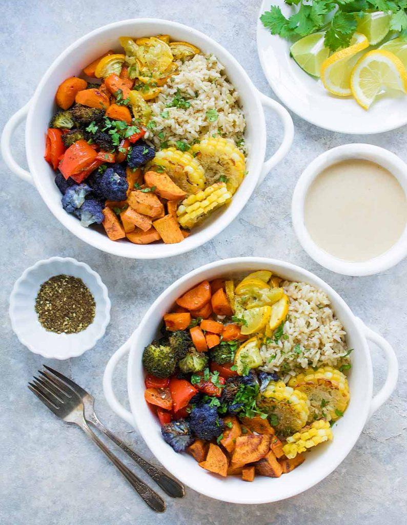 Vegetarian Sheet Pan Dinner