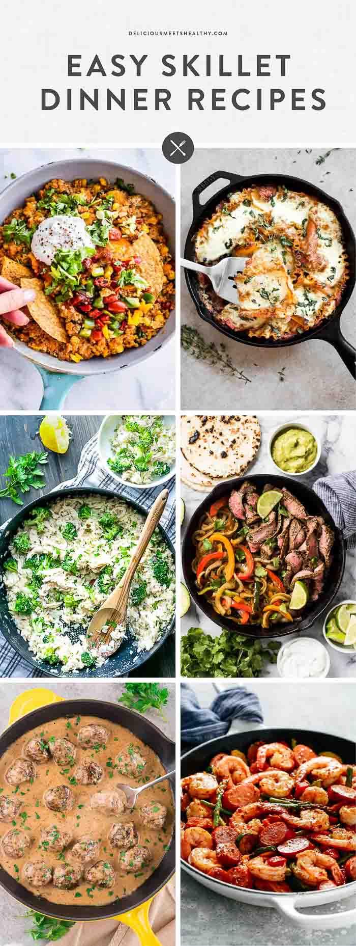 Skillet Recipes roundup