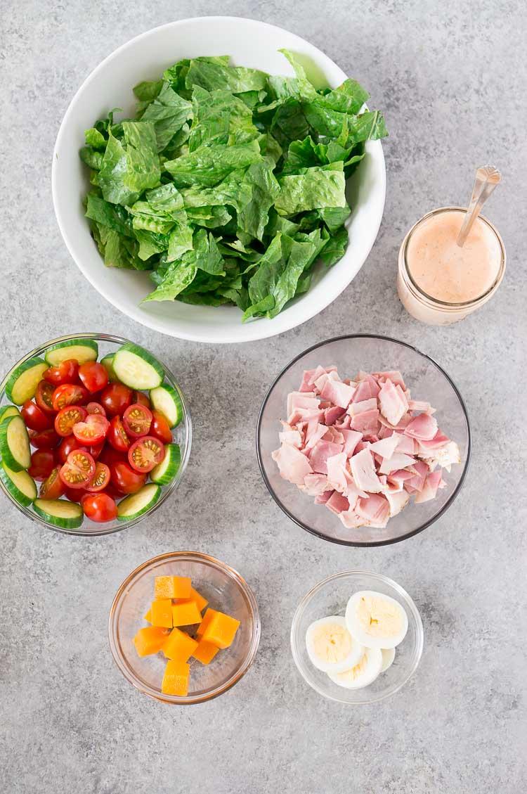 chef salad ingredients