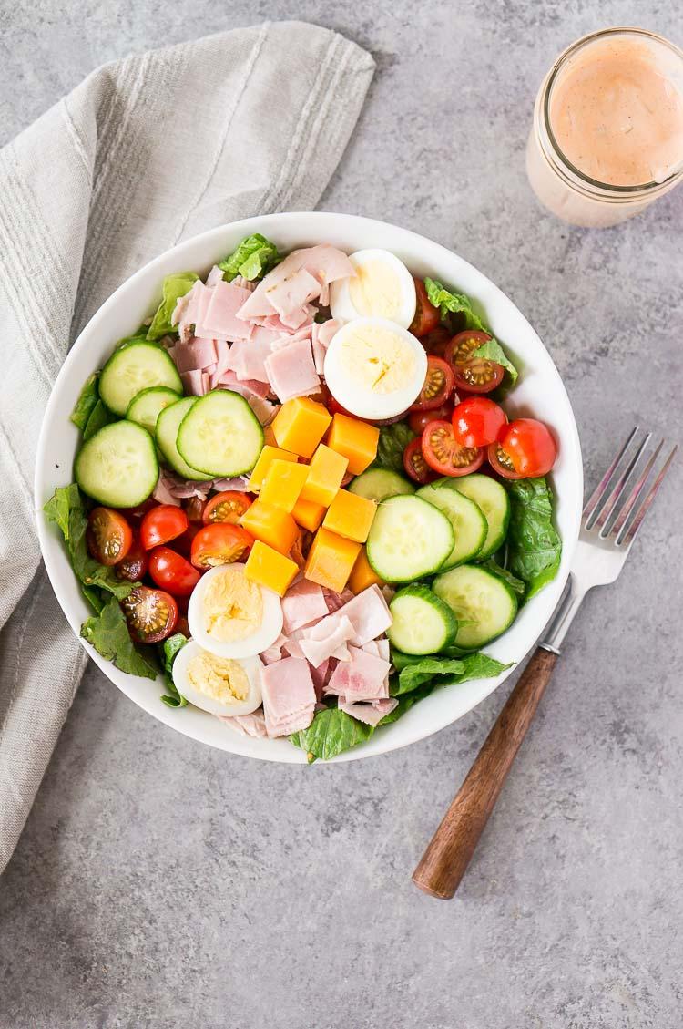how to make chef salad