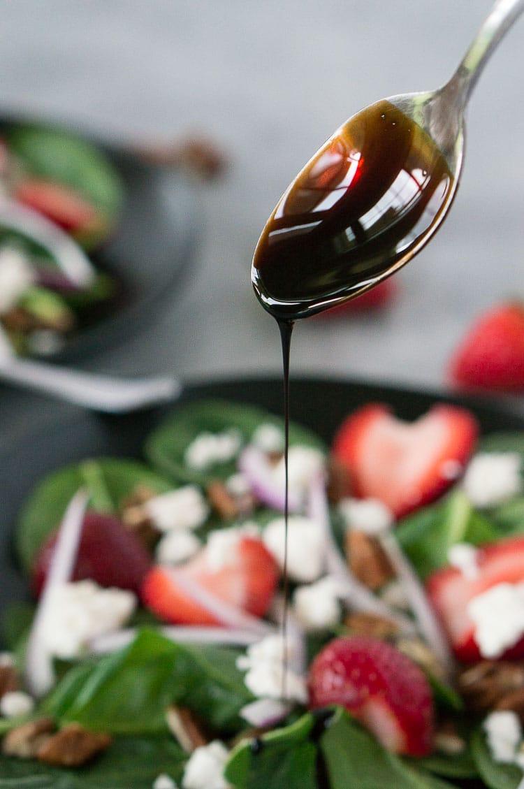 strawberry spinach salad dressing