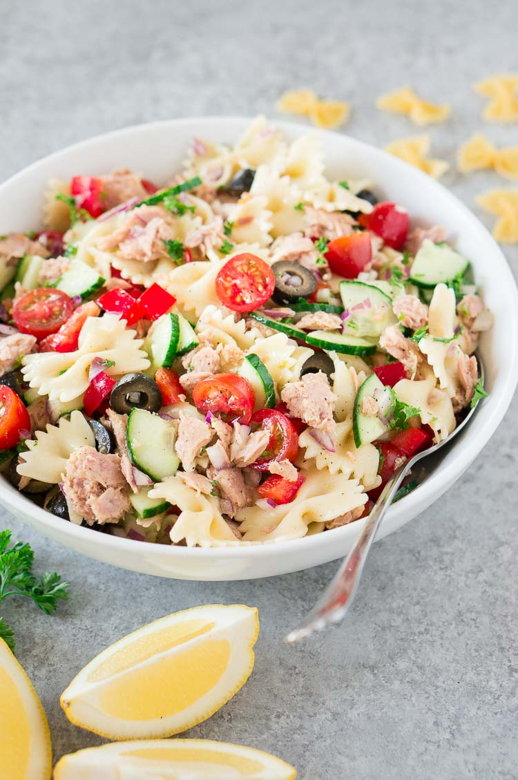 pasta tuna salad