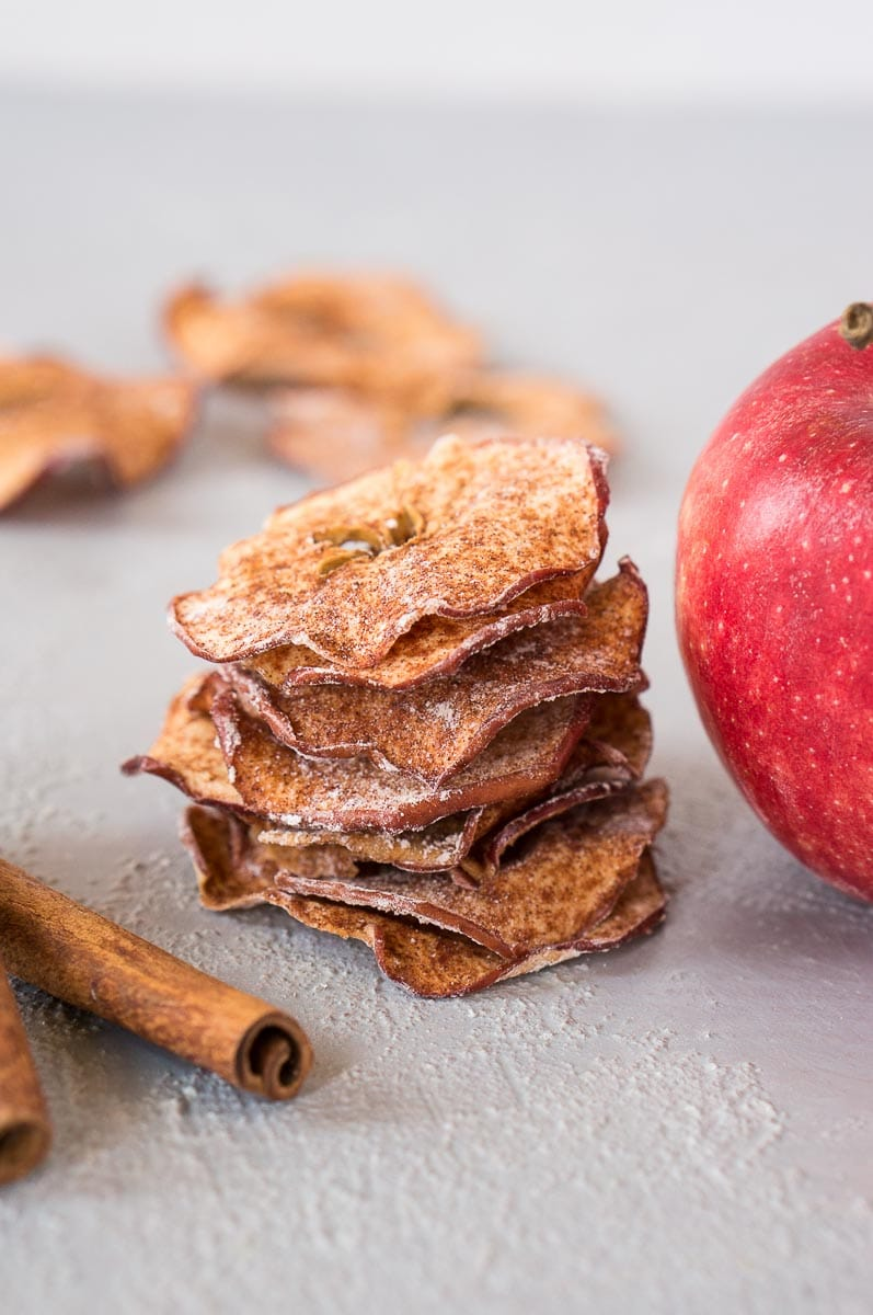 baked apple slices