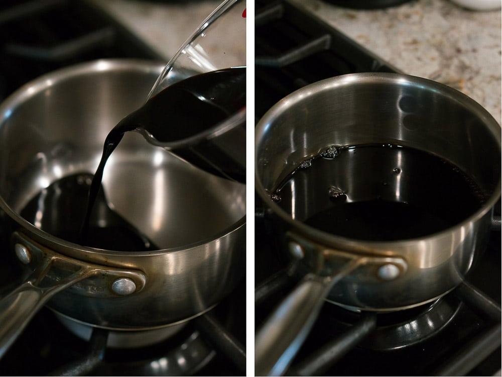 how to make blasamic vinegar reduction
