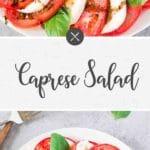 caprese salad - long pin