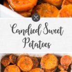 candied sweet potatoes - long pin
