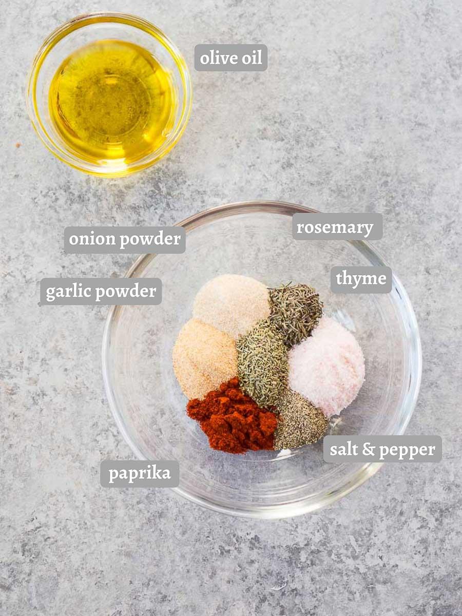dry spice rub for turkey breast