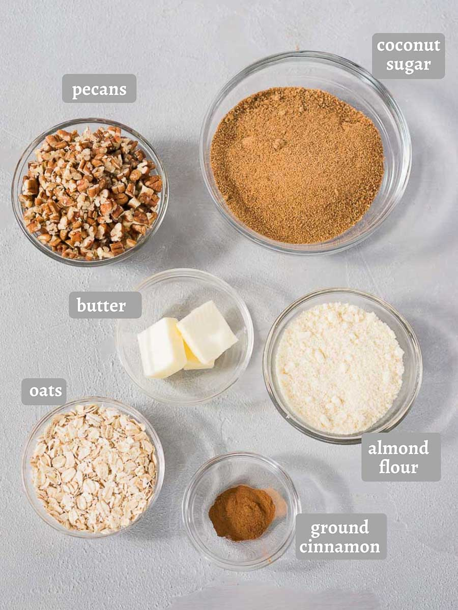 pecan topping ingredients for sweet potato casserole
