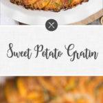sweet potato gratin - long pin