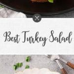 turkey salad - long pin