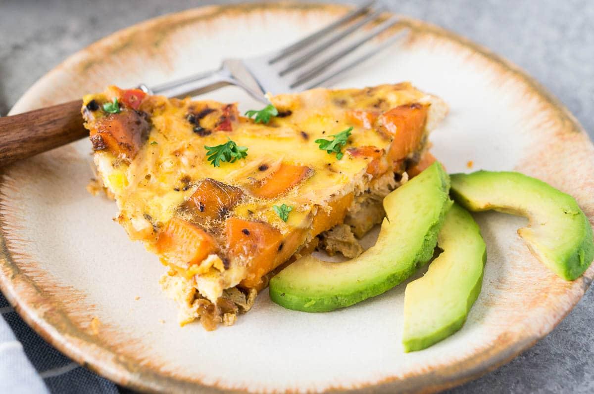Turkey And Sweet Potato Frittata Delicious Meets Healthy