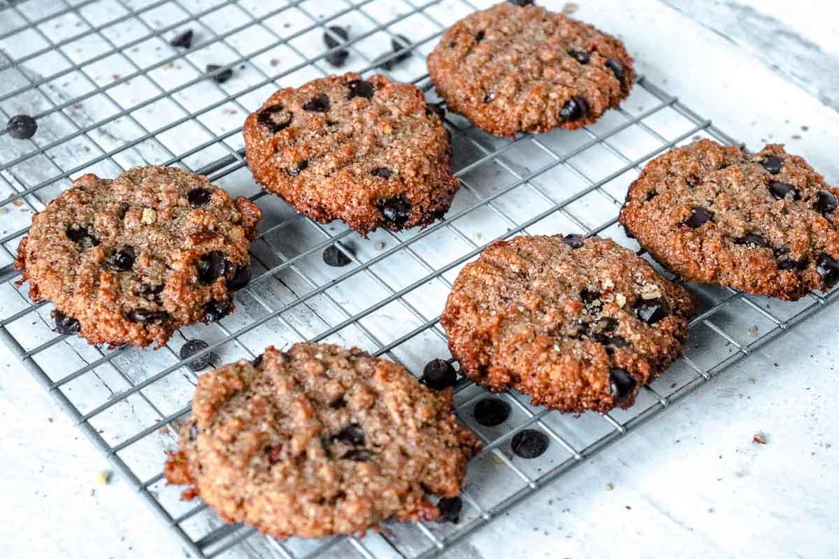 keto chocolate pecan cookies