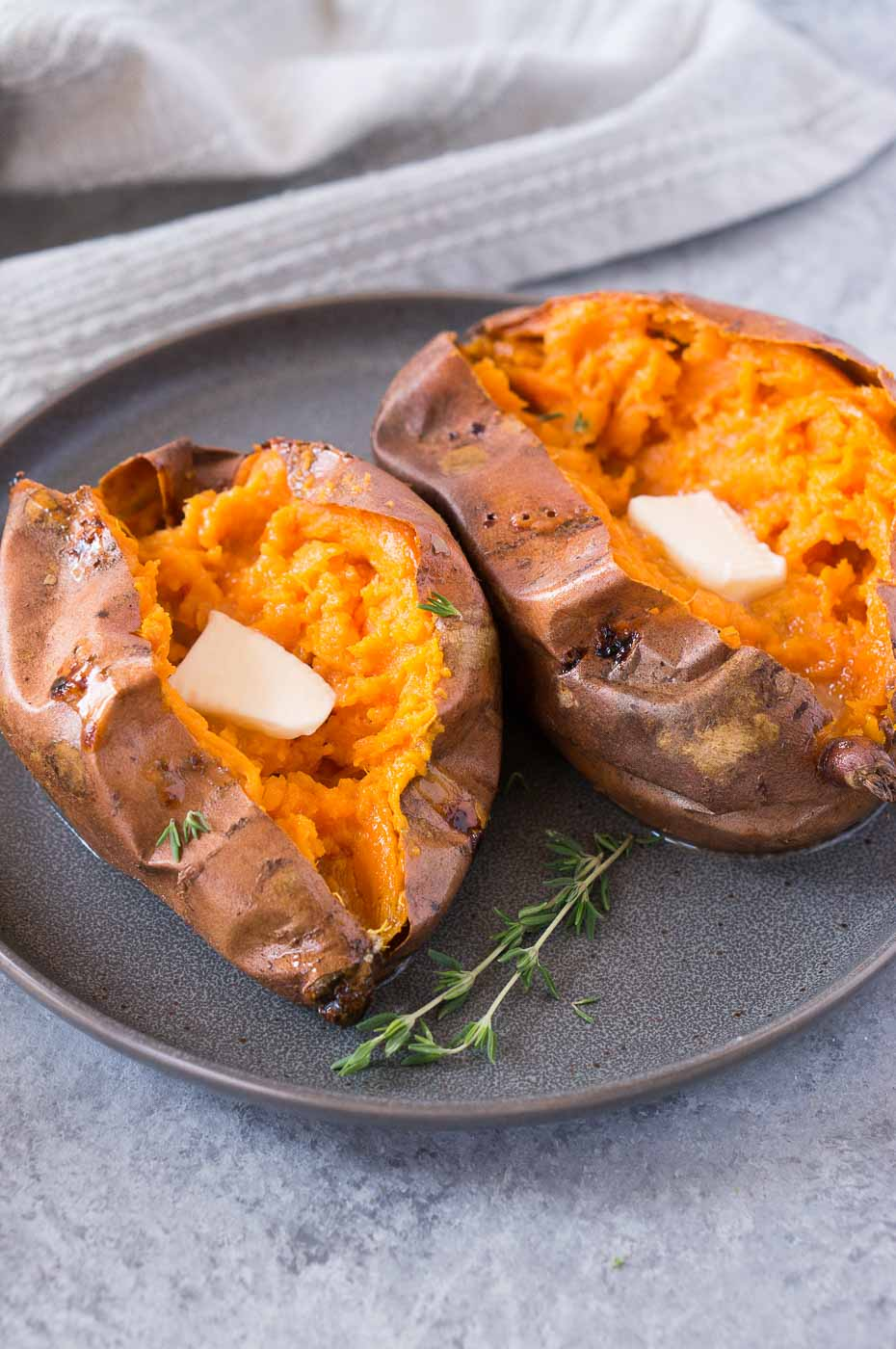 Baked Sweet Potatoes Best Quickest Way Delicious Meets Healthy