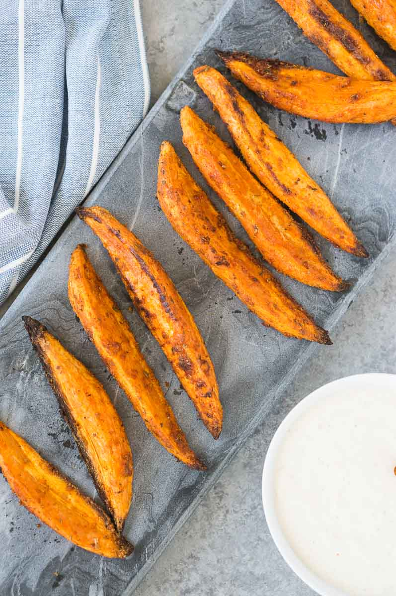 Sweet Potato Wedges Recipe Delicious Meets Healthy