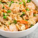 shrimp fried rice - pin