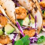 shrimp tacos - pin