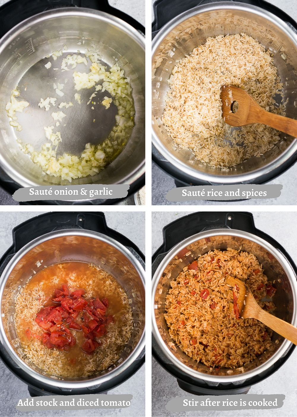 how to make spanish rice in the pressure cooker
