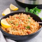 Instant pot Spanish rice