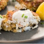 crab cakes - pin