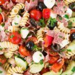 Italian pasta salad - pin