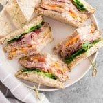club sandwich - pin