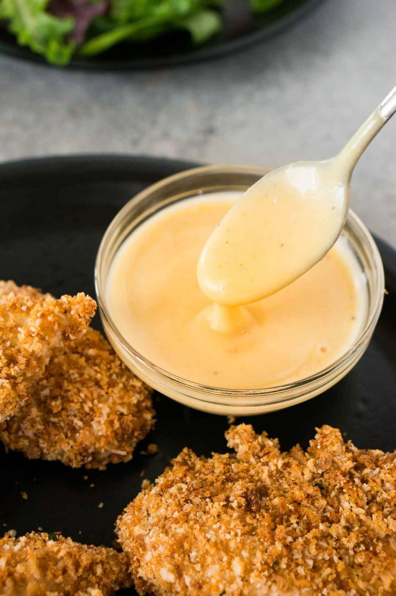 homemade honey mustard dipping recipe