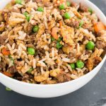 beef fried rice - pin