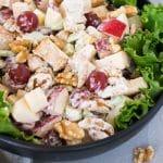 chicken waldorf salad - pin