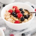 instant pot oatmeal - pin