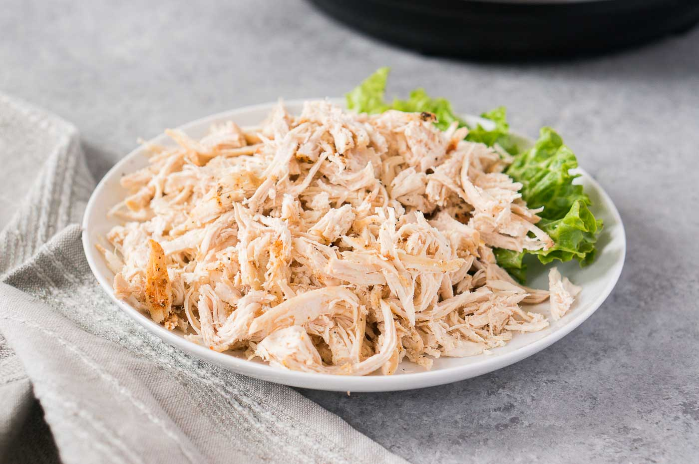 pressure cooker shredded chicken made in the instant pot