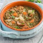 lentil soup - pin
